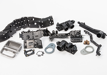 injection molded automotive products