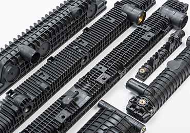 Plastic Molding for Heavy Equipment and Construction