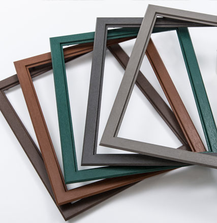 injection molded window frames